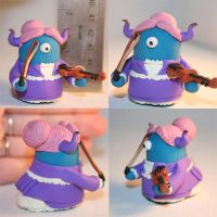 Victorian Violinist by TimidMonsters