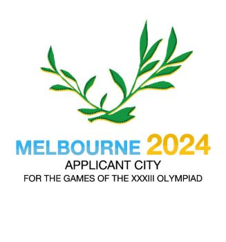 Melbourne 2024 Bid Logo by LordDavid04