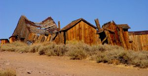 Western Ghost Town by Geotripper