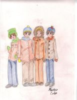 South Park - My boyz by MichiSan