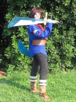 Vyse cosplay by crimsontriforce