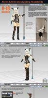 MMD Alice's Headstand Pose Tutorial by Trackdancer