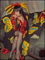 Yuuko On The Couch by Luthy-Lothlorien