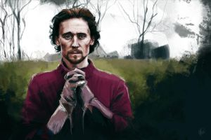 Henry V praying by HashtagGenius