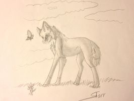 Sketch Book Doodle 1 by WolfStarr7