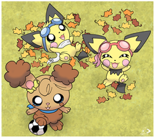 Fall Time Collab by pichu90