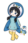 Piplup by purpleykitty