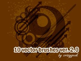 10 Vector Brushes by crazygenk
