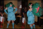 Ivysaur Gijinka Cosplayer by GriffSGirl