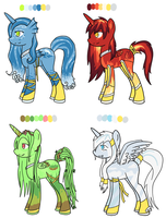 MLP Adopts:Elementals SOLD OUT by FlyawayHeart