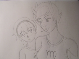 Homestuck - Kanaya and Rose by StarDragon77