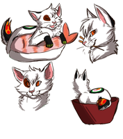 Sushi Cat by miaowstic