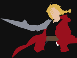 edward elric by dragonfang42