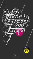 What Friend are FO' by bogielicious