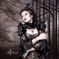 At the Entrance by vampirekingdom