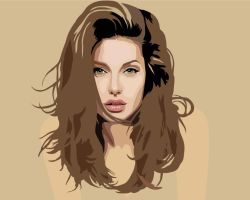 Angelina Jolie by Ilko94