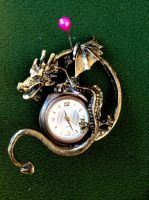 Time Dragon - SOLD by SonsationalCreations