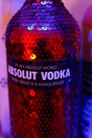 Absolut Red Sequins by Perzec