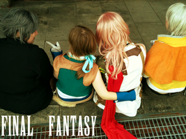 Final Fantasy Best Friends by mscupcake91