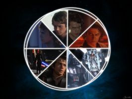 Anakin circle by MarkMajor