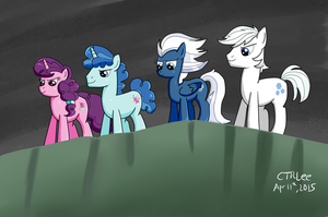 The Friendtastic Four by InfinityR319
