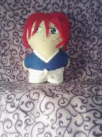 Kenshin Mini Plushie by snowtigra