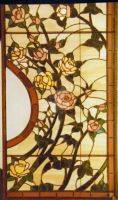 Stained Glass Rose detail by HouseofChabrier