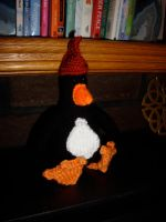 Feathers McGraw 2 by knerdy-knits