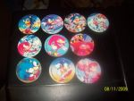 Sonic pogs by Firestar-the-Werecat