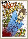 Evil Dead 2 Laughing by SquirrelyThings