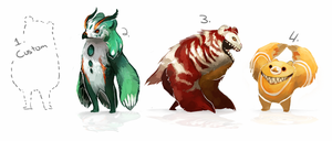 Taum Adoption Auction! [closed] by H-appysorry