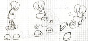 Old sketches of Rayman by SailorRaybloomDZ