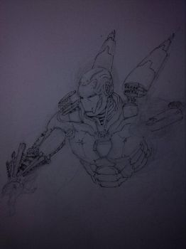 ironman sketch by mad-fever