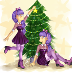 Sherri and Terri Christmas Edition by MissFuturama