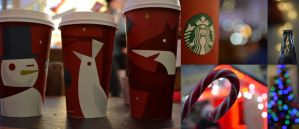 Christmas and Starbucks. by iSweetxCherry