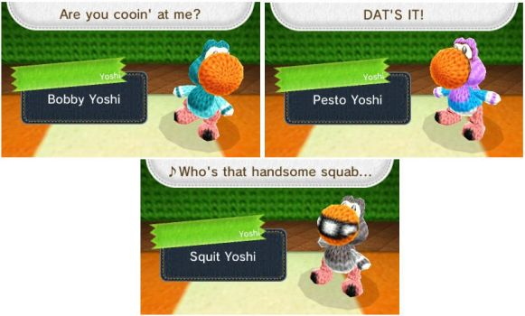 Goodfeather Yoshis by Dave-Sledge-Bro