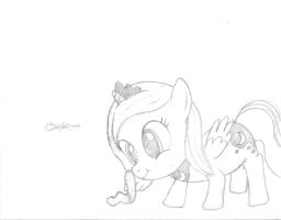 Woona and the Caterpillar by dawnchan14