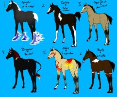 foals from breeding requests 2 by naomithewolf
