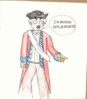 redcoat cartoon by Soulphat