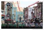 Downtown Universal Studios by errantscarecrow