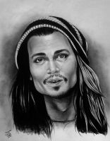 Johnny Depp by Spring-Fairy
