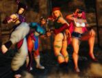 Street Fighter wallpaper - Street girls by ethaclane