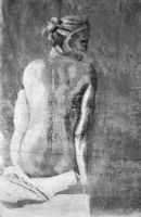 Life Drawing 3 by CorianderCollecter