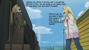 Edward Coming Out To Winry by DuoSmexyMaxwell