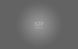 ISTP by PurpleToad