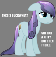 Poor Buckwheat... by towelgirl21