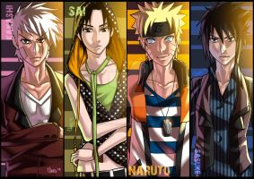 Naruto Bookmarks. by ElmerSantos