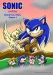 Sonic and the BirdStone cover by Amandaxter