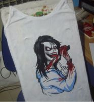 Jeff On My T-Shirt by BrainLessGirl