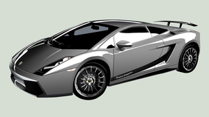 Lamborghini SuperLeggera by Furyo-kun